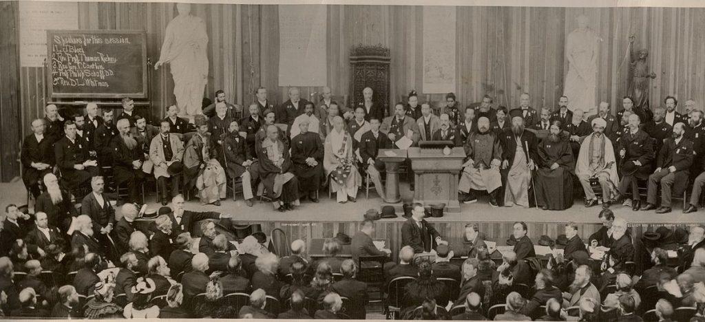Parlement des religions, Chicago, 1893 - Vivekananda, premier maître yogi moderne