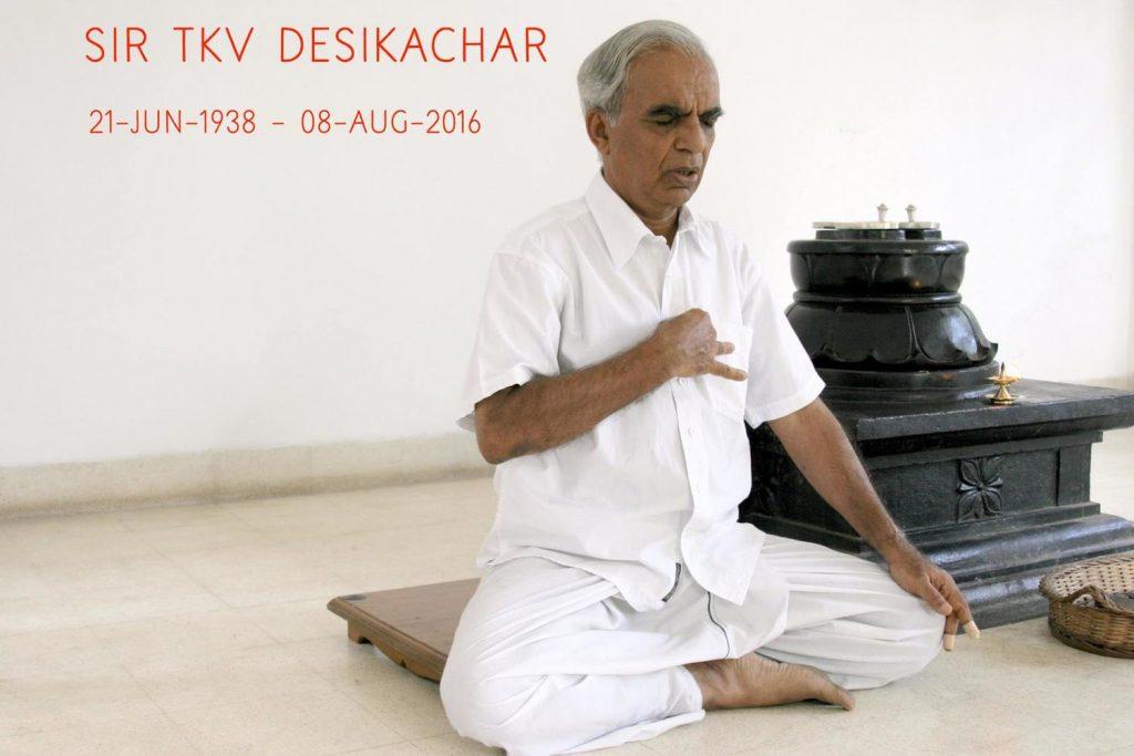 Desikachar, histoire du yoga