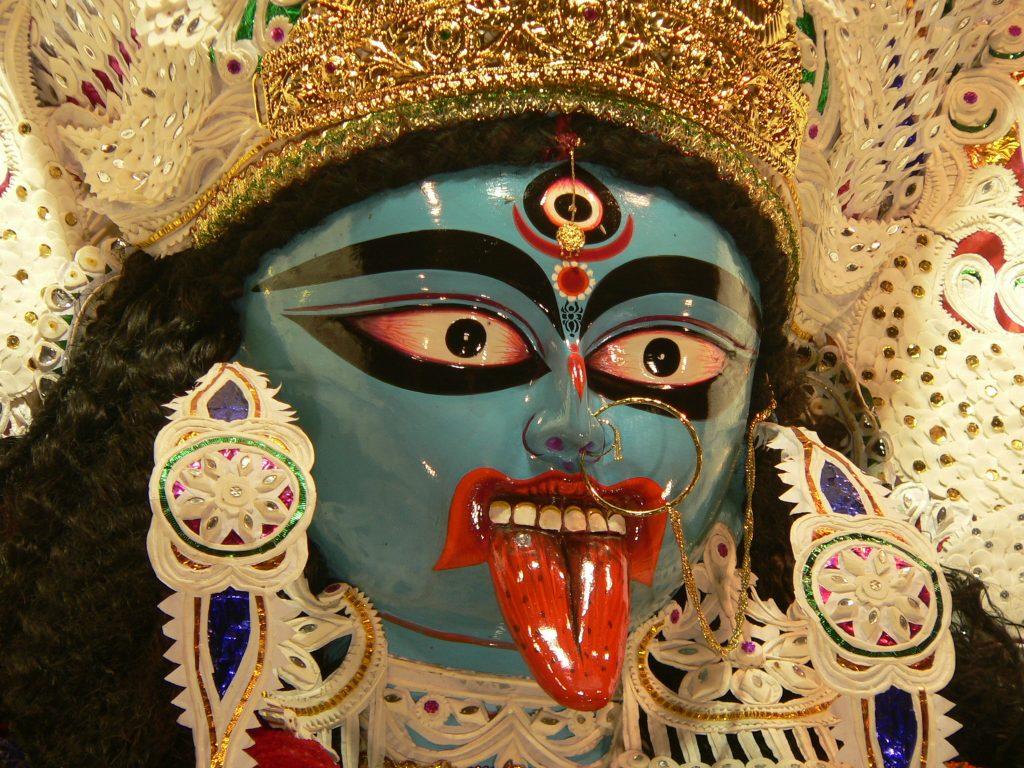 Tête de la déesse Kali