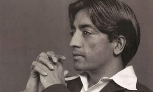 Krishnamurti, une personnalité majeure brûlante d'actualité !