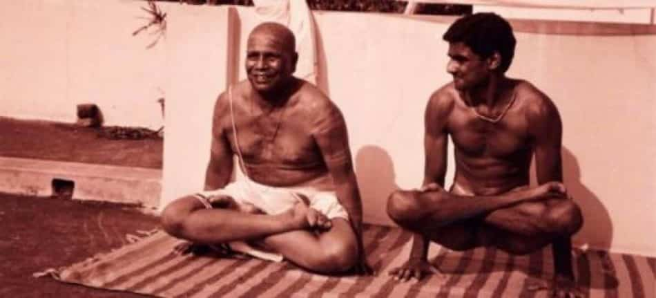 Pattabhi Jois et Sharath Jois Ashtanga Yoga