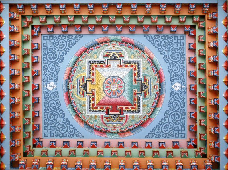 Mula bandha-mandala tibétain-Népal