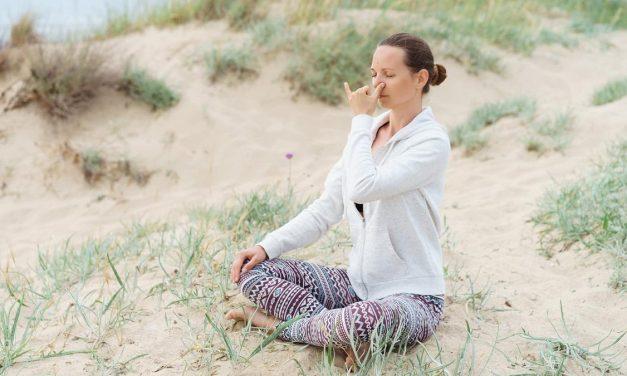 Le pranayama digital : technique de respiration yogique