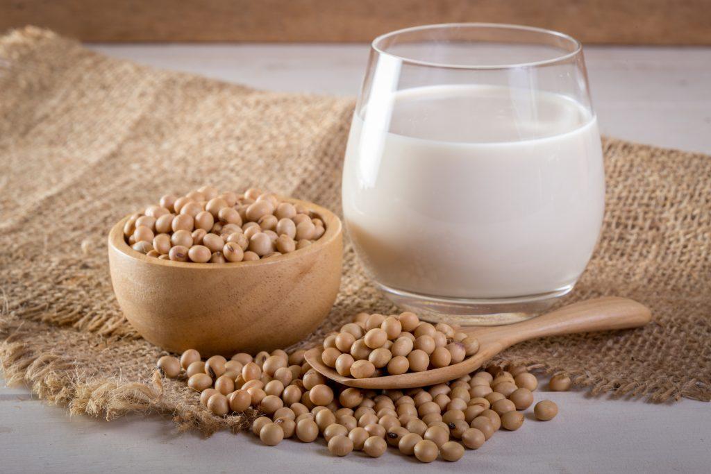 Laits végétaux-lait de soja