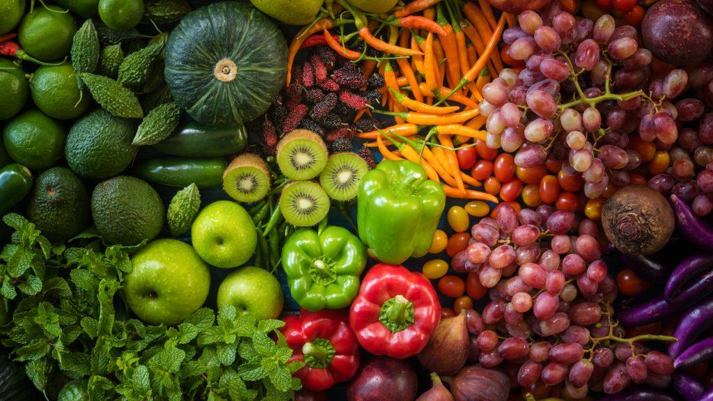 Alimentation physiologique-fruits et légumes