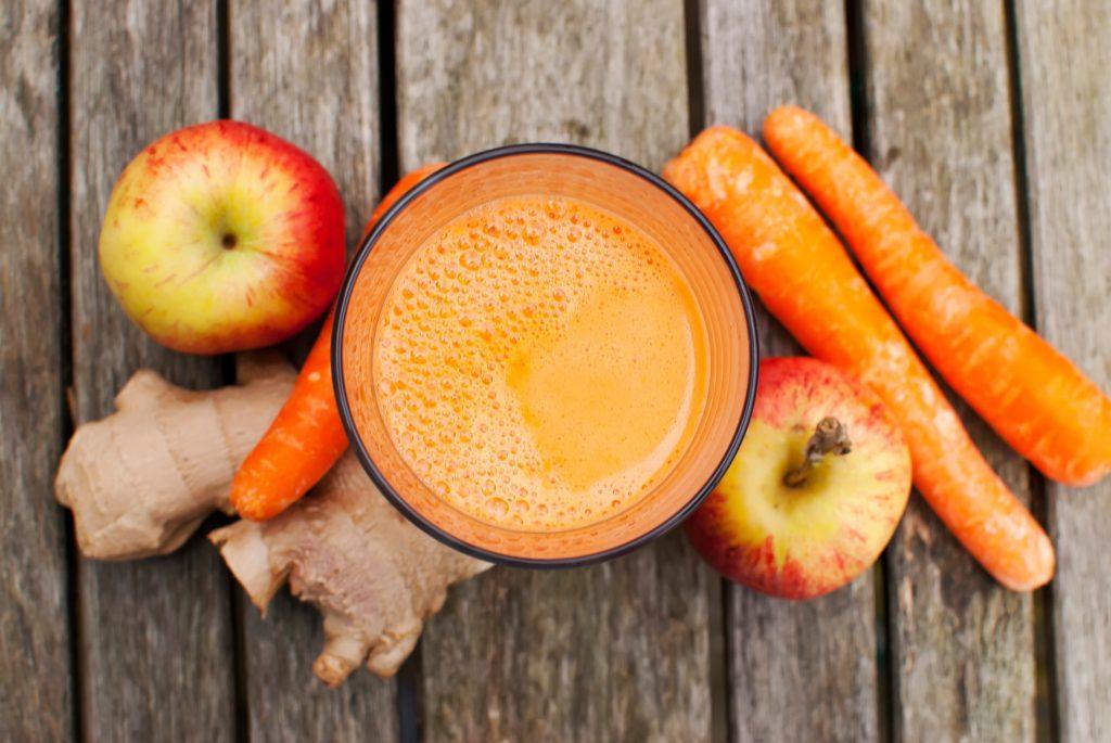 jus de légumes-jus de carotte