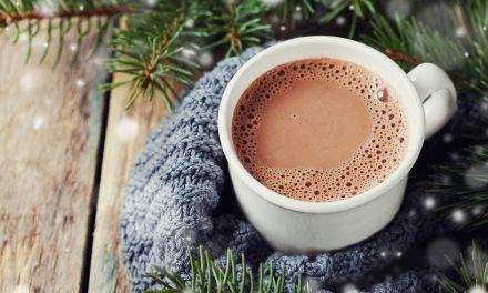 Chocolat chaud pour un pur moment de gourmandise / tout cru, vegan