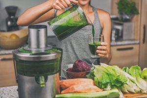 Comment mieux manger pour votre santé - jus de légumes