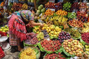 Comment mieux manger pour votre santé - marché-Guatemala