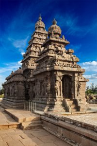 Temple à Mahabalipuram, Tamil Nadu