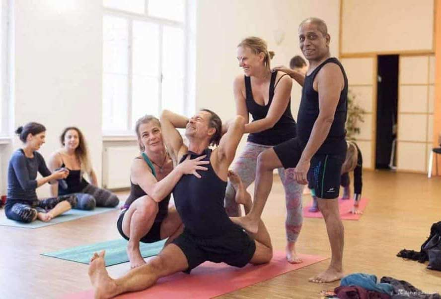 Pattabhi Jois Ashtanga Yoga