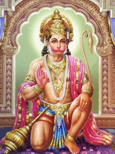Hanuman-virasana - la posture du héros
