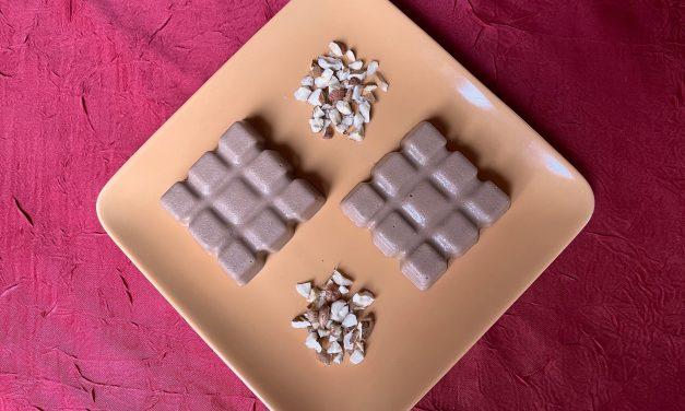 Flan au chocolat praliné tout cru (vg), un choix très gourmand !